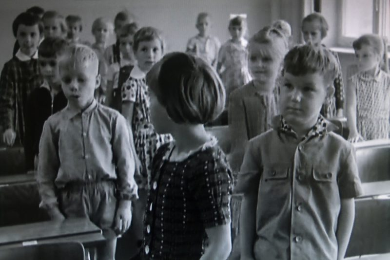 "From 1961 until 2007, the filmmaker Winfried Junge created a series of documentaries called ""The Children of Golzow,"" in which 18 residents of Golzow were filmed at regular intervals from childhood into adulthood. The school, which last year was in danger of not having enough students in some grades to hold classes, played a big role in the series. Credit: Shane McMillan"