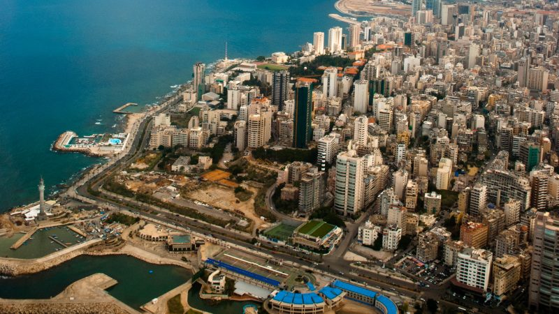 The Lebanese capital Beirut. Photo by Magnus Halsnes shared on Flickr under a creative commons license.