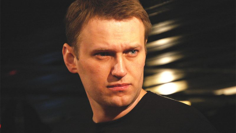 Russian opposition leader Alexy Navalny