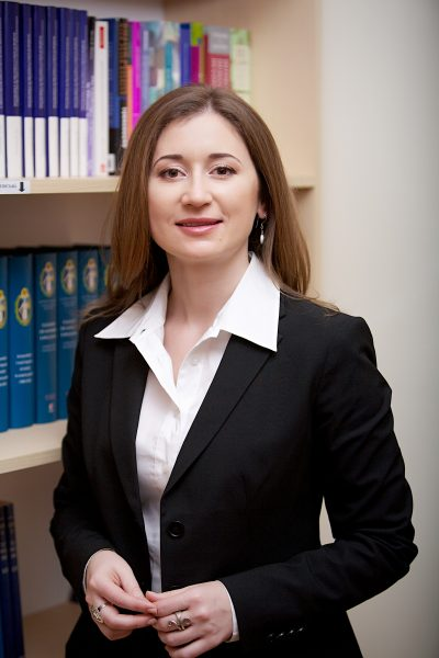 Nadejda Hriptievschi, photo by LRCM, used with permission.