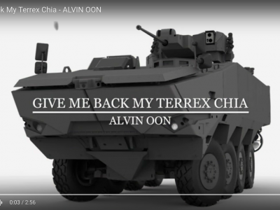 Catchy Singlish Songs Urge Hong Kong to Return Military Hardware to Singapore