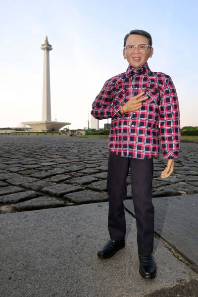 Governor Ahok's miniature. Photo by Dennys Wang, used with permission.