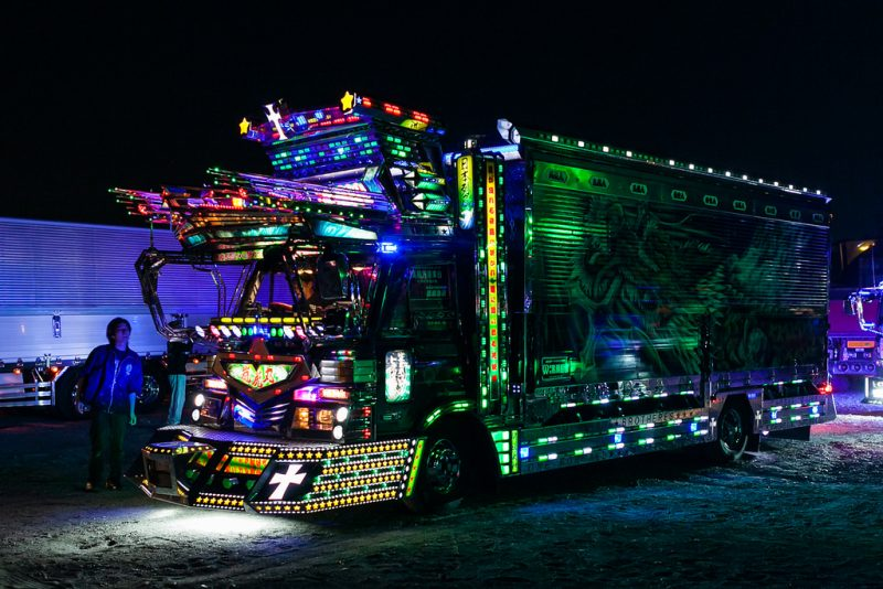 'Dekotora' trucks in Japan
