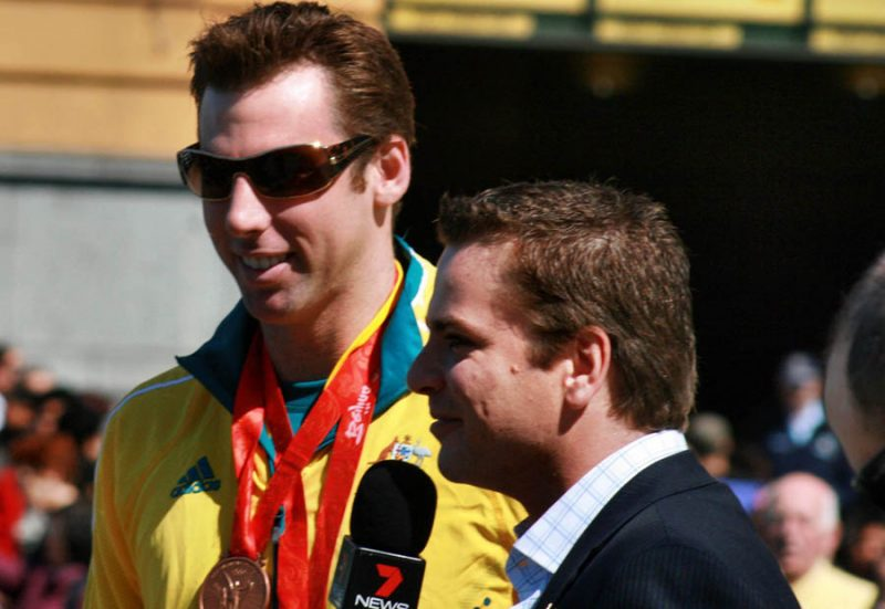 2008 Australian Olympic team Grant Hackett
