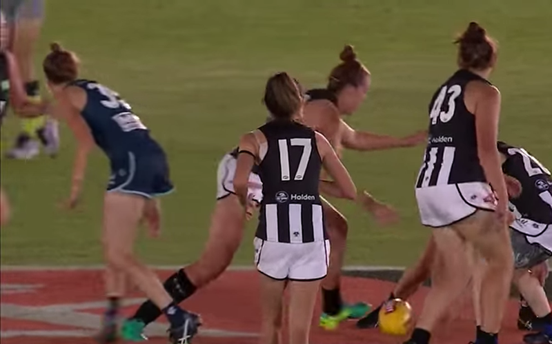AFLW Carlton v Collingwood 3 Feb 2017