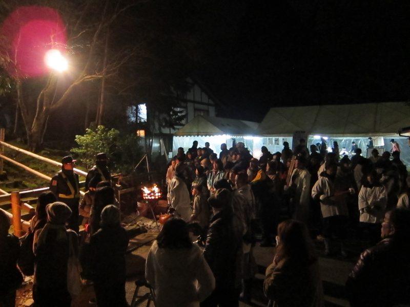 Omizu Okuri festival in Obama