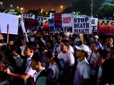 Thousands Joined 'Walk for Life' to Protest Extrajudicial Killings and Revival of Death Penalty in the Philippines