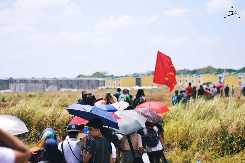 Другие районы проявляют солидарность к движению #OccupyBulacan. Фото Паулы Сабрины Янер. Опубликована с разрешения авторов.