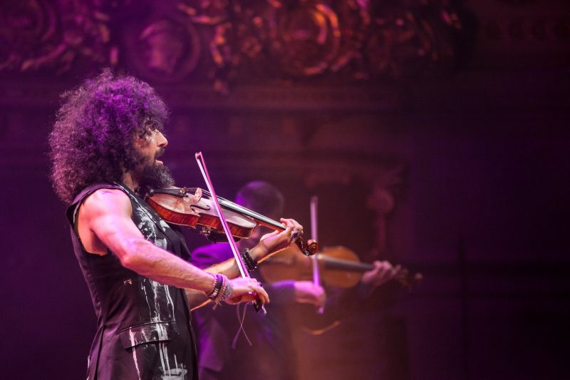 Ara Malikian during his concert in Sofia, Bulgaria. Photo by BG Sound Stage, used with permission.