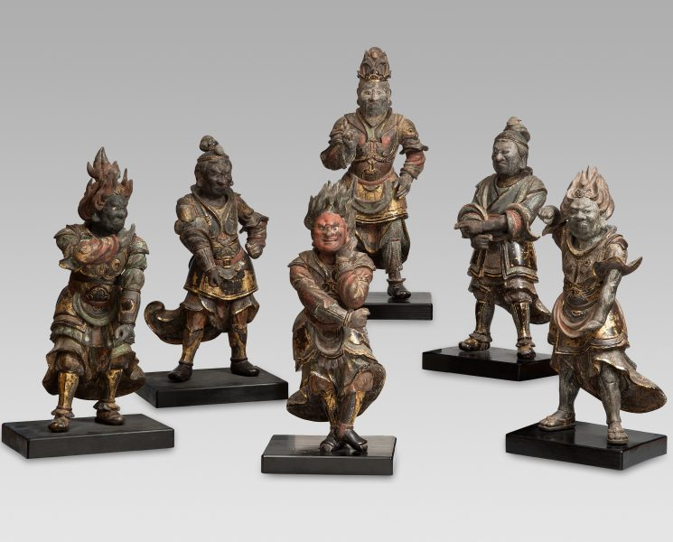 Six of the Twelve Divine Generals (Jūni shinshō)