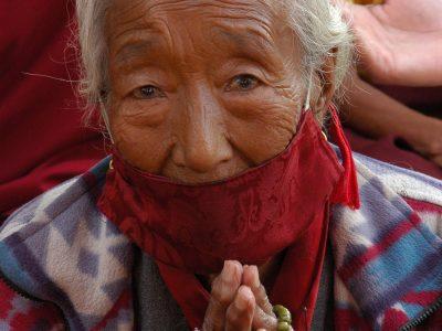Kathmandu's Pollution Is So Bad, Even Gods Need Masks