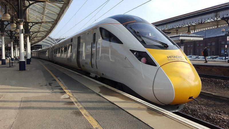 Hitachi Class 800. York.