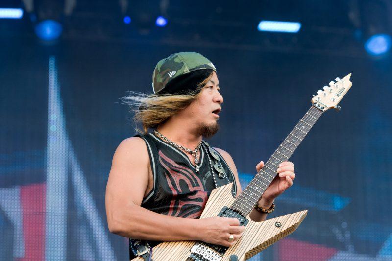 Akira Takasaki, lead guitarist for LOUDNESS