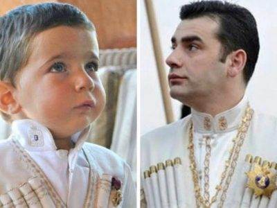 Georgia's Five-Year-Old Prince Prepares to Reign