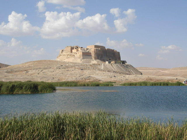 View of Qal'at Najm from the south