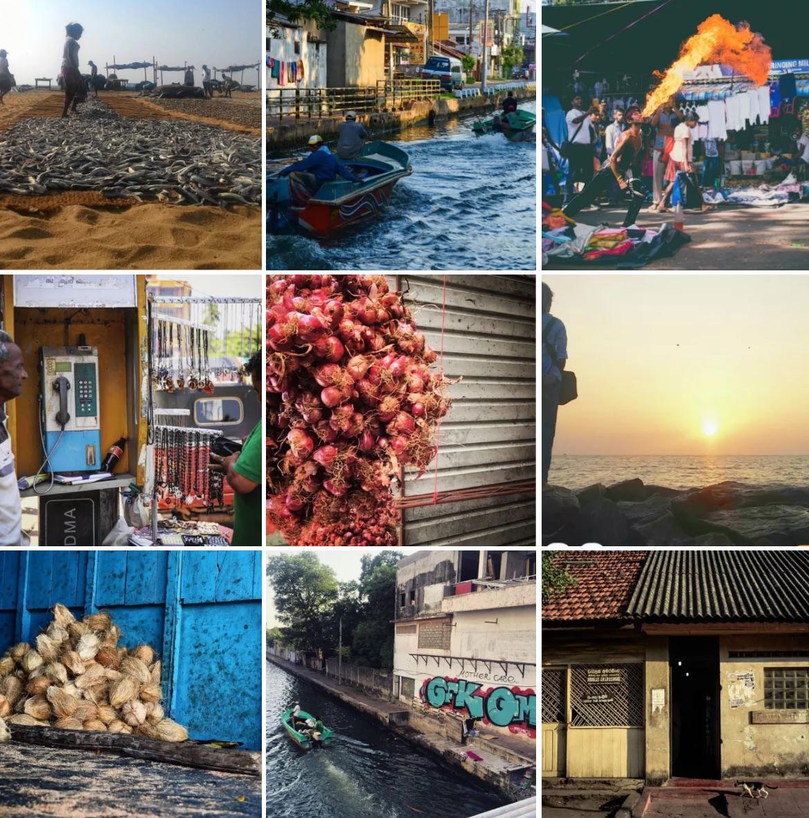 Photos de l'Instameet de cette année à Negombo