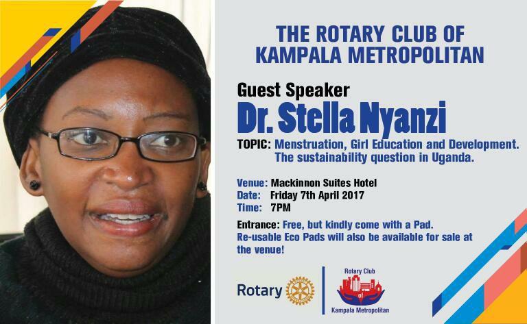 L'académicienne et critique du gouvernementale ougandais Dr. Stella Nyanzi. Photo partagée sur sa page Facebook.