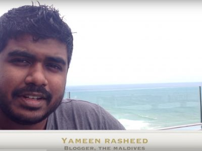Maldives Blogger and Activist Yameen Rasheed  Stabbed to Death