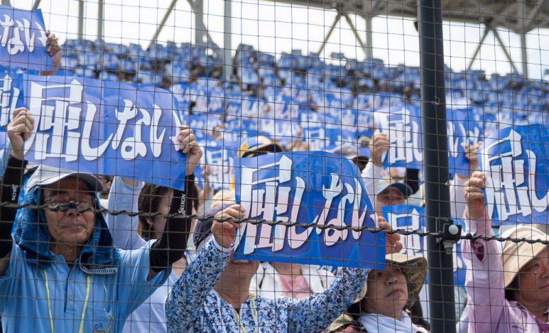 Henoko Base Protests Okinawa