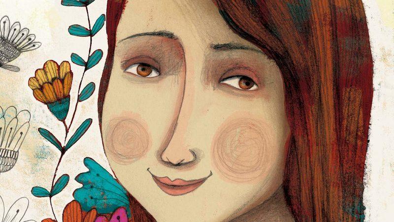 """Indira Jarisa Pelicó Orellana, une des victimes du massacre de """"Hogar Seguro"""", avait 17 ans lorsqu'elle est décédée. Portrait de l'artiste mexicaine Claudia Navarro. Utilisé avec permission."""