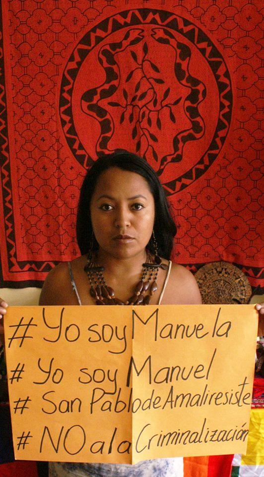 Katy Betancourt Machoa, directrice des femmes de la CONAIE. Image reproduite avec autorisation du site de la CONAIE, https://conaie.org.