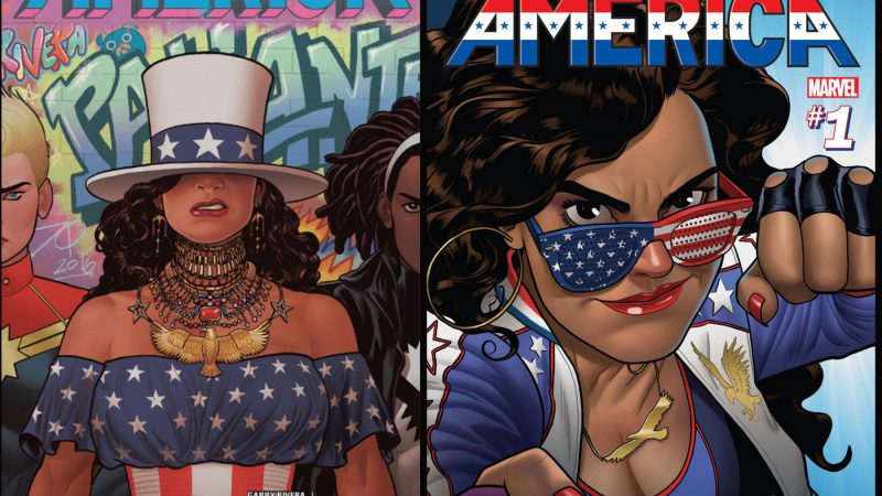Первые обложки американской серии комиксов. Взяты из цифрового магазина комиксов Марвел.