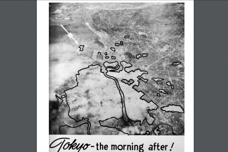 Tokyo Air Raid Damage