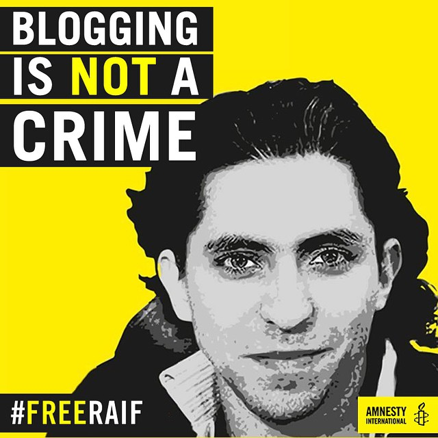Dopo di cinque anni, la famiglia del blogger saudita Raif Badawi torna a chiederne il rilascio