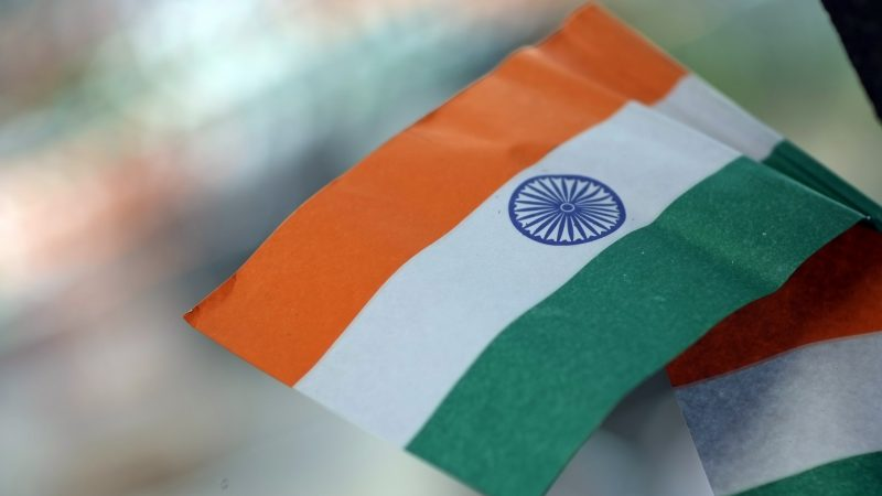 Miniature Indian paper flags. Image from Flickr by Daniel Incandela. CC BY-NC 2.0