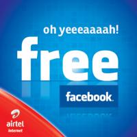 Annonce Facebook gratuit, par Airtel.