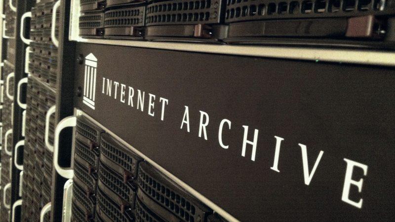 Серверы Архива Интернета. Изображение с Flickr автор: Джон Блайберг. CC BY 2.0