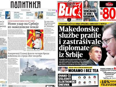 Serbia and Macedonia at War? The Headlines Say So, But Citizens Disagree