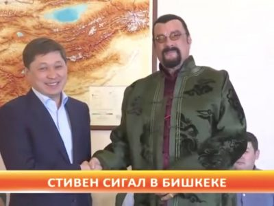 Steven Seagal Rediscovers Celebrity in Central Asia, and the Implications Are Alarming