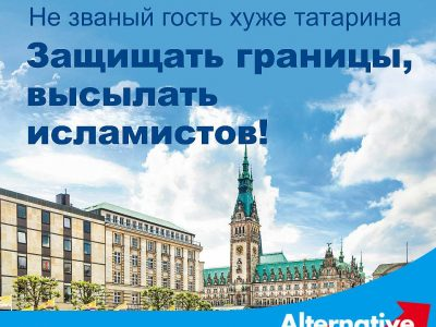 German Anti-Immigrant Party Targets Russian-German Voters With a Xenophobic Ad