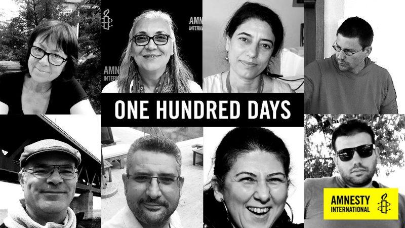 I 10 difensori dei diritti umani di Istanbul sono dietro alle sbarre da 100 giorni