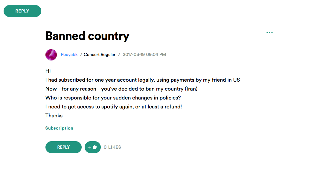 In Iran, Music Streaming Sites Soundcloud and Spotify Are Back