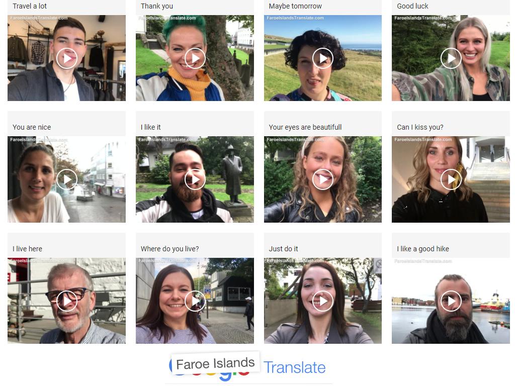 faroe islands translate