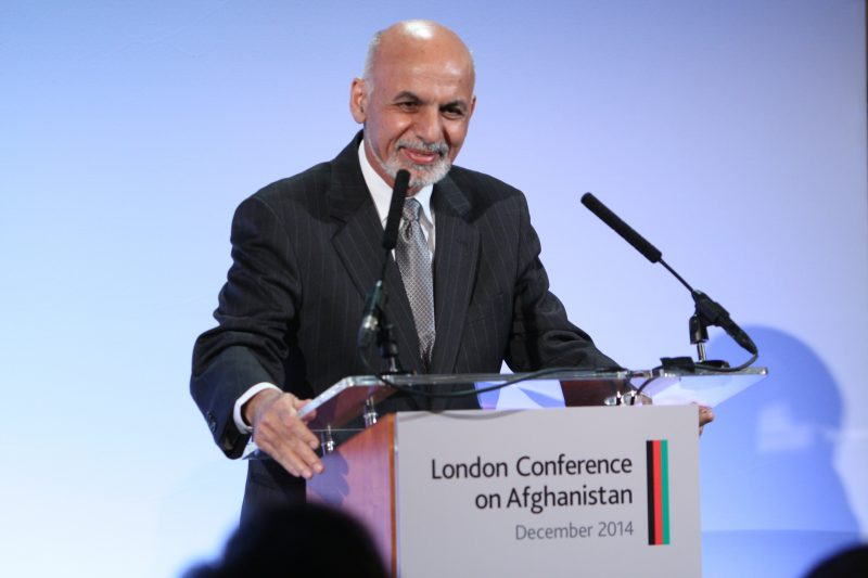 Президент Афганистана Ашраф Гани. Творческие Общины.