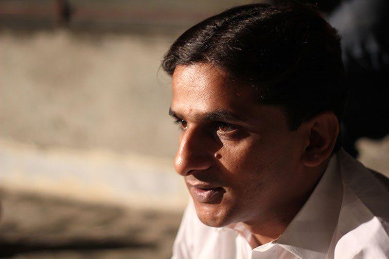 L'activiste des droits humains Raza Mehmood Khan. Utilisé avec permission.