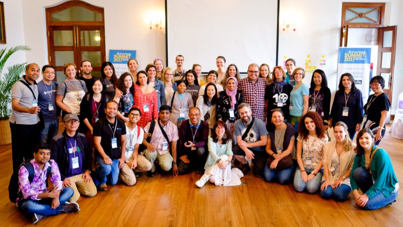 Global Voices Lingua participants