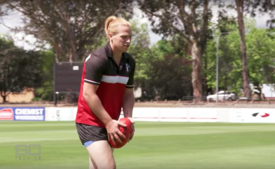 Hannah Mouncey - Transgender footballer