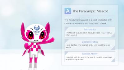 Tokyo 2020 Paralympic Mascot