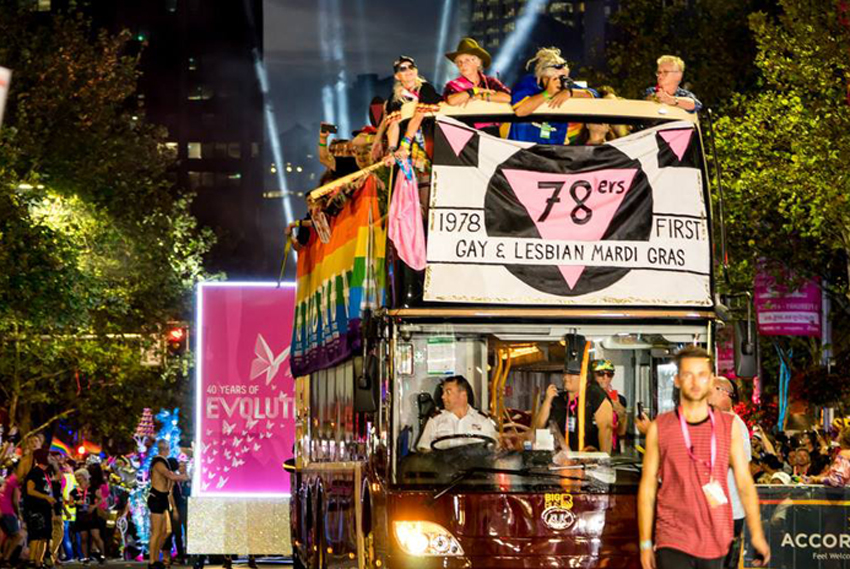Sydney Gays y Lesbianas Mardi Gras 78ers