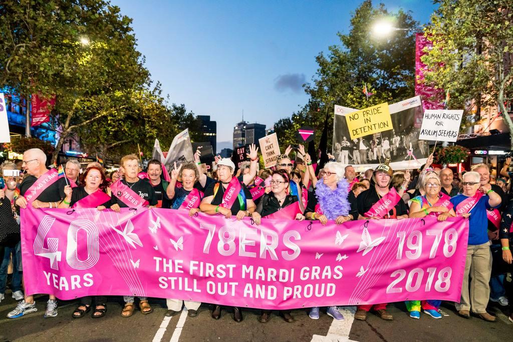 Sydney Gay and Lesbian Mardi Gras 78ers
