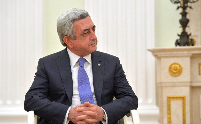 Serzh Sargsyan: Armenian PM resigns after days of protests