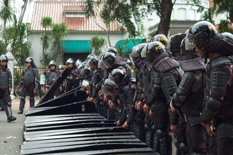 Police in Indonesia