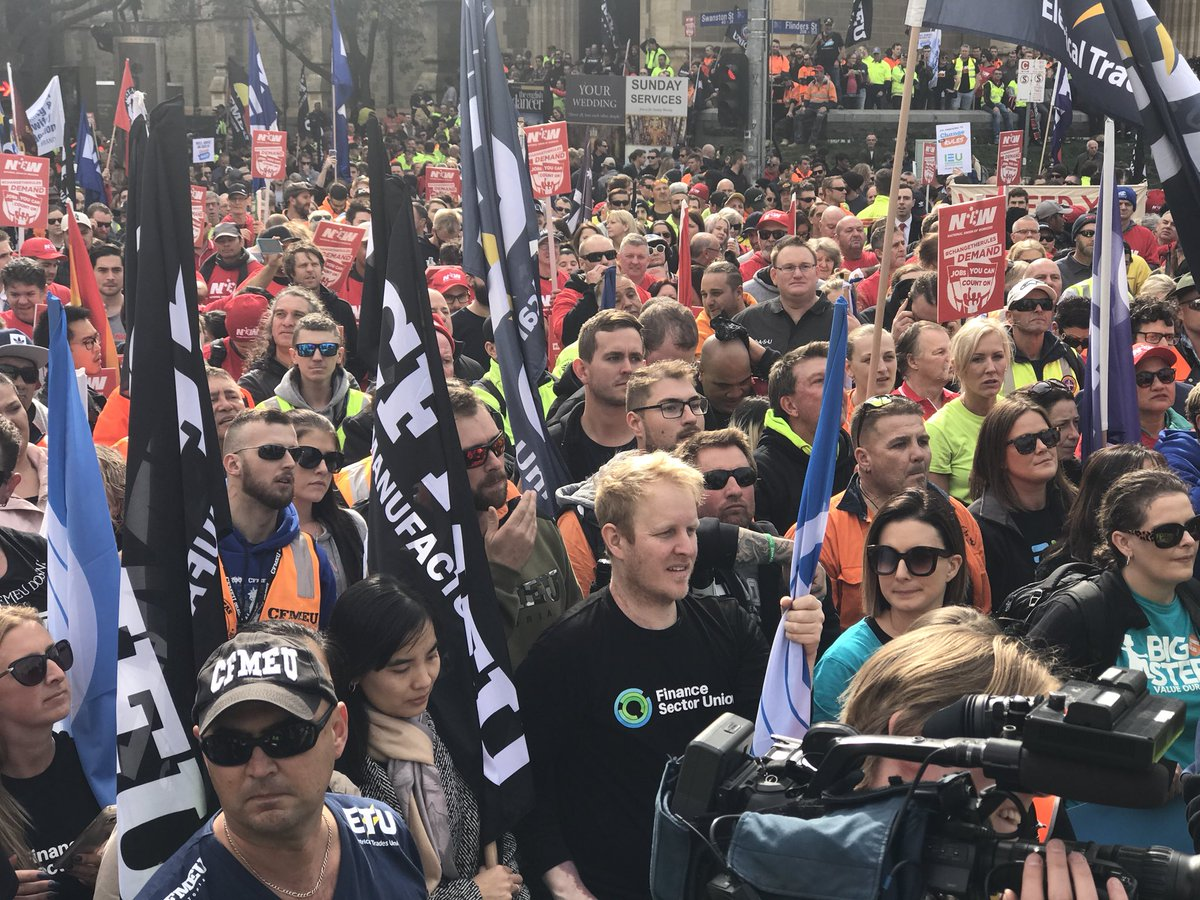 Change the Rules Melbourne Rally 9 May 2018