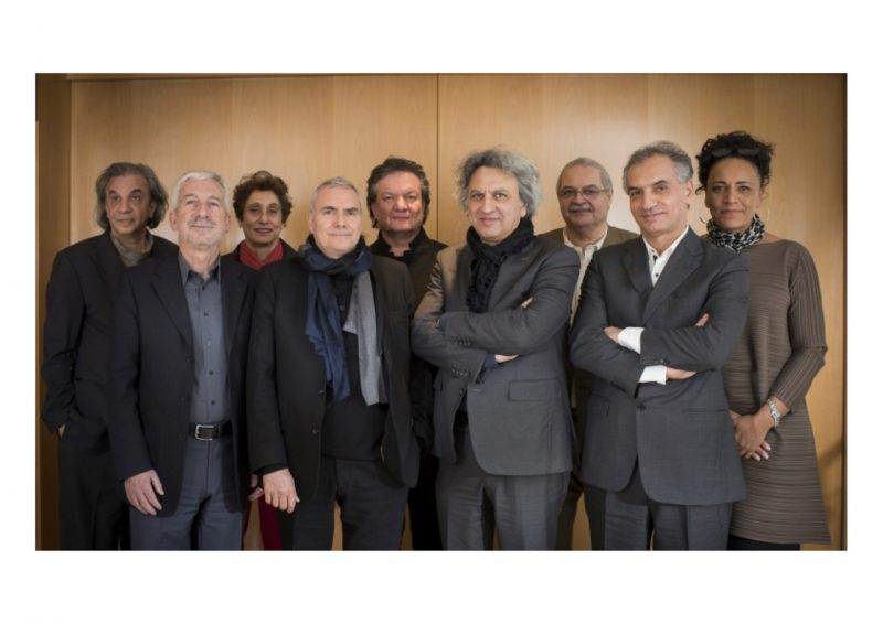The 2016 Master Jury for the Aga Khan Award for Architecture; Professor Lesley Lokko is at the far right. Photo courtesy Lokko, used with permission.