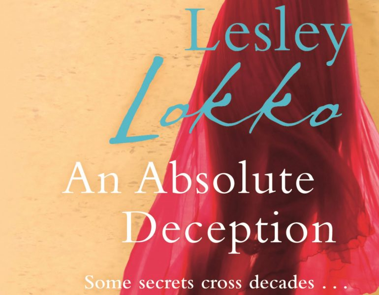 A detail of the cover of one of Lesley Lokko's novels. Image provided by Lokko and used with permission.