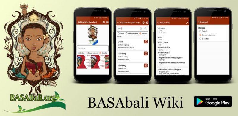Esta wiki ajuda a manter vivo o balinês na Indonésia